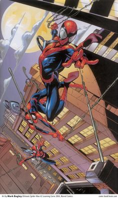 Ultimate Spiderman: Learning curve By Mark Bagley