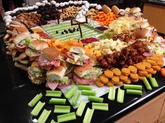 best Super Bowl recipes - http://johnrieber.com/2015/01/25/super-bowl-2015-seattle-seahawks-super-snacks-create-your-own-super-snack-party/