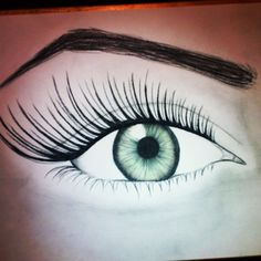 Eye #sketch with color