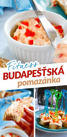 Diet Recipes, Recipies, Czech Recipes, Low Carb Diet, Food And Drink, Snacks, Breakfast, Fitness, Spreads