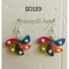 Earrings - by: Tranquill Arts