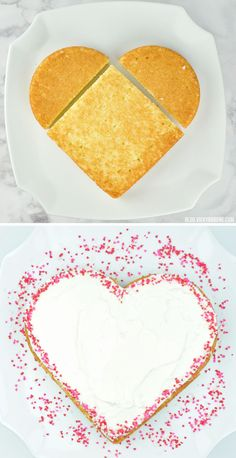 DIY Heart-Shaped Cak