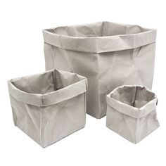 PAPERBAGS GREY