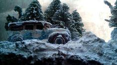 Diorama Snow in Sweden By mas harsono