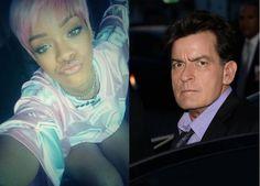 """Rihanna entra em """"beefs"""" com actor Charlie Sheen http://angorussia.com/?p=18932"""