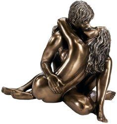 Enraptured in Love Bronze Desktop Statue