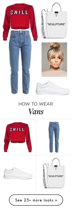 """Без названия #1364"" by martadidukh on Polyvore featuring Vans and Off-White"