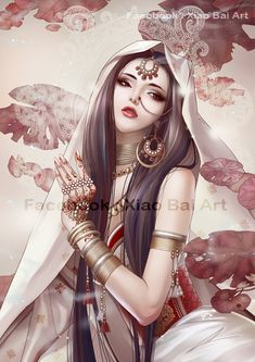 ✯ Beauty of India .:☆:. Artist Zhang Xiao Bai ✯