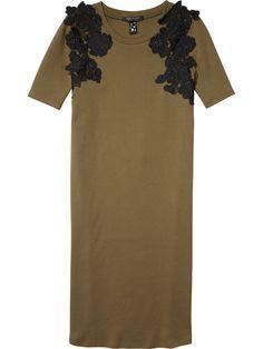 e65a0f2dc414 Lace Appliqué Jersey Dress Scotch Soda