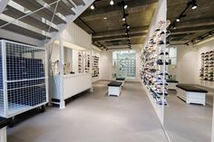 Solebox Opens New Location in Berlin: A little over a year ago we turned our eye on Solebox Berlin for an edition of HYPEBEAST Spaces. Berlin, Retail Store Design, Sneaker Stores, Kids Store, Best Sneakers, Store Fronts, Guide, Shelves, Interior Design