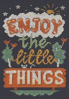 Buy Little Things Cross Stitch Kit Online at www.sewandso.co.uk