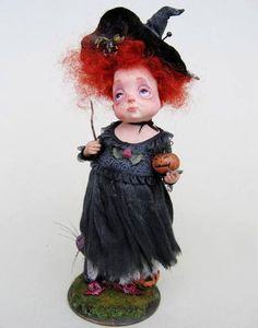 Very unique doll✋ART DOLLS More Pins Like This At FOSTERGINGER @ Pinterest☝✋