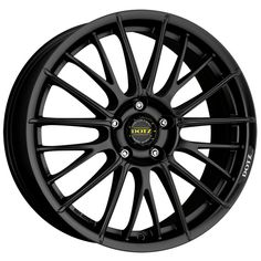 MATT BLACK DOTZ RAPIER alloy wheels #vw #bmw #audi #alloy #wheels #rims http://www.turrifftyres.co.uk
