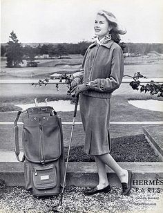 Hermes golf ad, 1958. www.GolfSportMag.com
