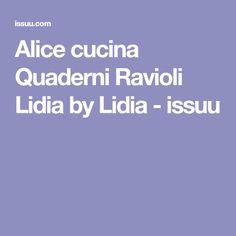 Alice cucina Quaderni Ravioli Lidia by Lidia - issuu