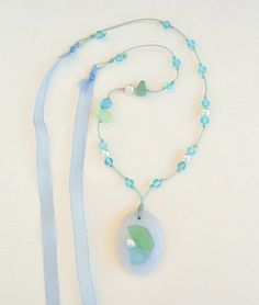 memories of the beach diy necklace