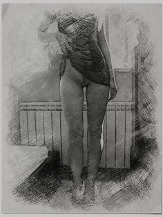 Posing Naughty in lingerie with charcoal touch by casemiroarts Also Available as T-Shirts & Hoodies, Men's Apparels, Women's Apparels, Stickers, iPhone Cases, Samsung Galaxy Cases, Posters, Home Decors, Tote Bags, Pouches, Prints, Cards, Mini Skirts, Scarves, iPad Cases, Laptop Skins, Drawstring Bags, Laptop Sleeves, and Stationeries #erotic #sexy #amateur #charcoal #art