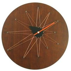 George Nelson by Verichron copper Asymetric Clock [G110912]2