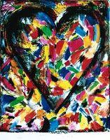 Use Your Coloured Pencils: Confetti Hearts