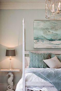 Coastal Style: Colour Inspiration | Seafoam + Sand More