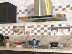 küchenfliesen design thematisch küche gestalten