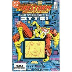 Firestorm #23. Vol2. DC May 1984. 1st Appearance Felicity Smoak. Conway. FN/FN+ £10 www.luckytargetcomics.com #arrow #firestorm #dccomics