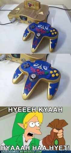 video game memes - Better Than the Triforce