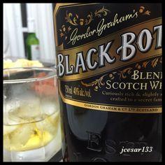 Whisky Black Botton