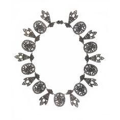 Important Georgian Berlin Iron Necklace, circa 1825