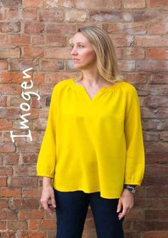Sew Me Something Imogen Top(Beginner)