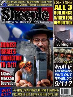I have come to realize two central truths about the events of 9/11: Israel did it and they used nuclear bombs to demolish the WTC buildings.