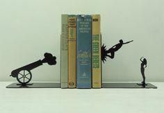 18 diseños de sujeta-libros