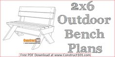Quick and easy DIY project for an outdoor bench. Leopold bench plans include illustrations, measurements, and shopping list. Shed Plans 12x16, Lean To Shed Plans, Coop Plans, Simple Workbench Plans, Workbench Ideas, Workbench Organization, Garage Workbench, Sawhorse Plans, Workbench Designs