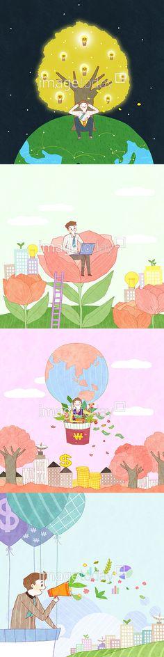 일러스트 계절 나무 네트워크 미소 봄 비즈니스 사람 아이디어 전구 조명 즐거움 지구 컨셉 페인터 휴식 꽃 무선통신 열기구 벚나무 벚꽃 금융 달러…