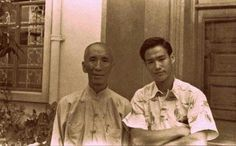 Yip Man and Bruce Lee...