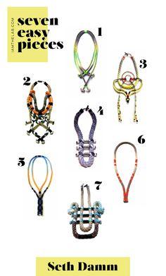 From IAMTHELAB.com 7 Easy Pieces: Seth Damm's Amazing Handmade Jewelry