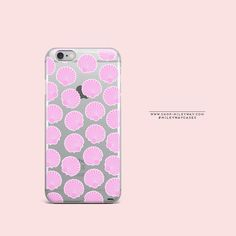 'Shell Vibes'(@milkywaycases x @okitssteph) - Clear TPU Case Cover