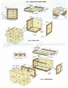 #1725 Step Tansu Plans - Furniture Plans and Projects