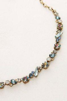 New Anthropologie Sorrelli Cetica Choker Rhinestone Necklace NWT $118 SOLD OUT #Sorrelli #Choker