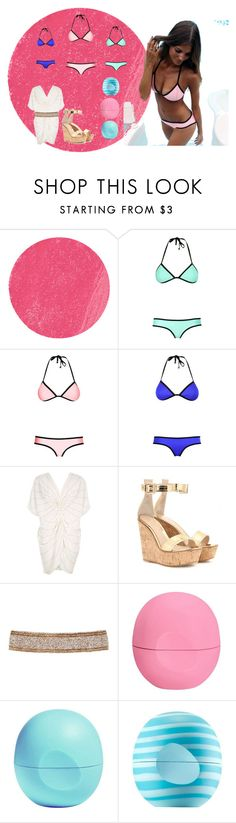 """""""✵Summer loving✵"""" by buddyames on Polyvore featuring Lancôme, Triangl, River Island, Gianvito Rossi, Cocobelle and Eos"""