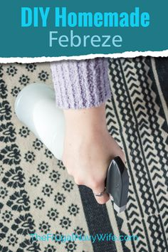 Love Febreze but not the cost? Make it at home with the Easiest Homemade Febreze recipe. 3 Simple steps to great smelling furniture. #frugalnavywife #homemadefebreze #dirfebreze #fabricfreshener #frugallivingtip #frugaldiy | Homemade Febreze | DIY Room Freshener | DIY Febreze | DIY Fabric Freshener | Frugal Living Tips | Home Cleaning Supplies | Frugal DIY | Spring Cleaning Tips House Cleaning Tips, Diy Cleaning Products, Cleaning Hacks, Spring Cleaning, Cleaning Supplies, Homemade Febreze, Room Freshener, Diy Cleaners, Frugal Living Tips