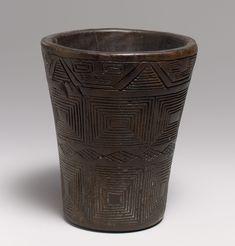 Kero - 15th–early 16th century, Peru - Culture: Inca - Wood