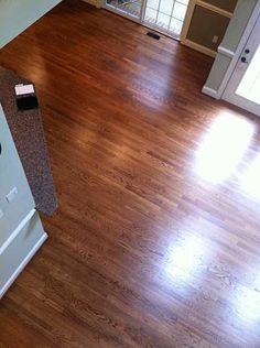 English Chestnut Stain On White Oak Stylish Floors N