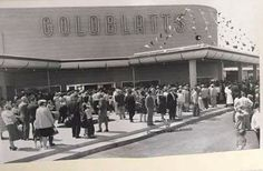 Goldblatts Grand opening Elmwood Park Racine, Wisconsin.
