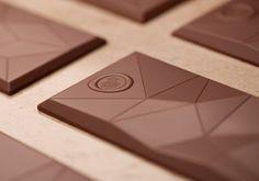 Details we like / Chocolate / Polygone / Brown / food Design /at leManoosh