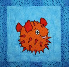 Ocean animal applique PDF baby or childs quilt pattern: Reef Buddies (Printable Pattern) Catch a wave and meet your new ocean reef buddies with this 44 by 44 quilt. The waves are gently breaking on the shore nearby, and the animals (even the sharks) are very friendly! You can create your very own Reef Buddies quilt to keep and snuggle under or to give as a gift for that very special someone in your world. Heres what youll get: - Thirteen unique applique patterns, including the orca…