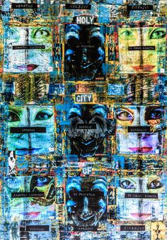 Venitian Book of Secret Codes. Collage Print on Canvas 40x28 Inches Price 200 zl - 48 Eur - 64$ Secret Code, The Secret Book, City Photo, Collage, Canvas Prints, Coding, Painting, Art, Art Background