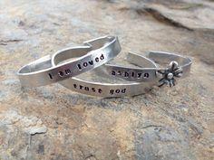Customizable bracelets for little girls. $15