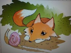 Mr Fox and Snail - Matt Sewell
