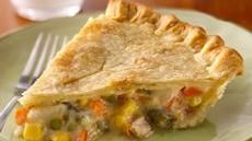 Super Easy Chicken Pot Pie Comfort food doesn't get much tastier--or easier--than this. Convenient refrigerated pie crust and canned soup make it so easy. Pie Recipes, Great Recipes, Chicken Recipes, Cooking Recipes, Favorite Recipes, Healthy Recipes, Dinner Recipes, Easy Recipes, Cabbage Recipes